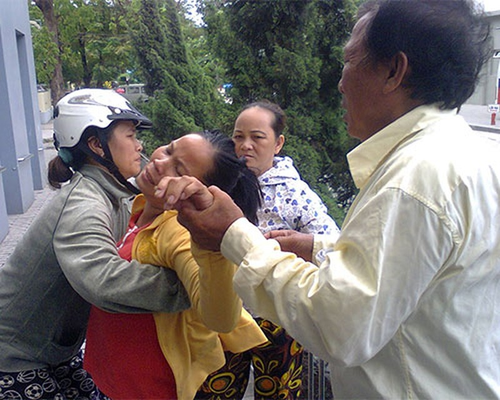 Cục Y tế Giao thông Vận tải làm việc với người nhà nạn nhân - ảnh 1