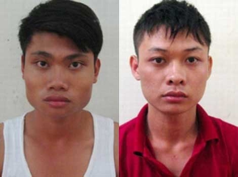 Nguyễn Anh Tuấn và Đinh Chí Sáng.