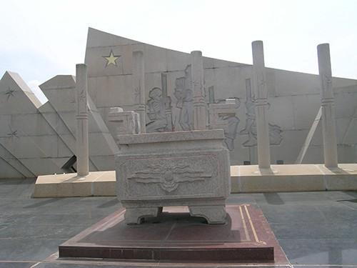 Chùm ảnh Tượng đài tại Đền Tưởng niệm Ngã Ba Giồng (1) - ảnh 5