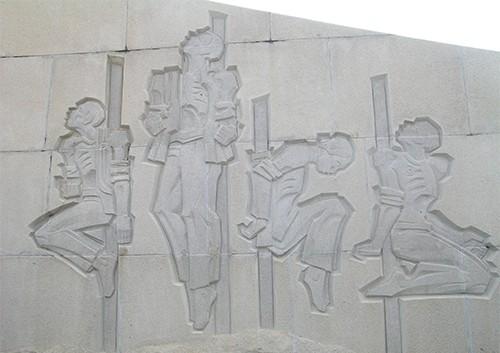 Chùm ảnh Tượng đài tại Đền Tưởng niệm Ngã Ba Giồng (1) - ảnh 6