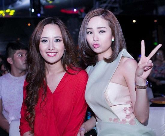 """Ngay cả khi phải """"đọ sắc"""" với người bạn thân thiết là hoa hậu đình đám Mai Phương Thúy, nhan sắc của Minh Hằng cũng không hề lép vế."""