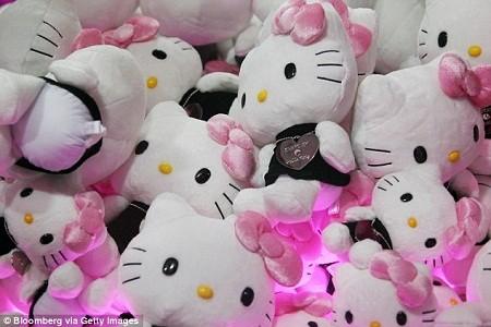 Hello Kitty tròn 40 tuổi và bí mật chưa từng tiết lộ