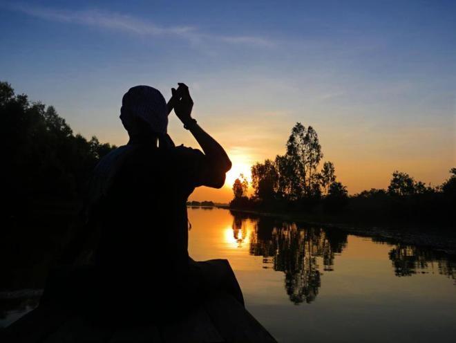 Tràm Chim, thiên đường mùa nước nổi - ảnh 1