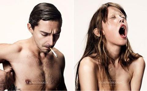 Các diễn viên trong phim Nymphomaniac có diễn viên đóng thế trong những cảnh sex.