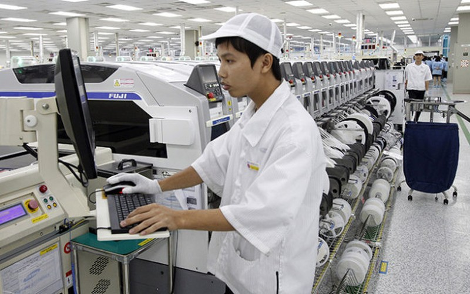 """Một khu sản xuất trong """"thị trấn công nghệ"""" - Ảnh: Nguyễn Khánh"""