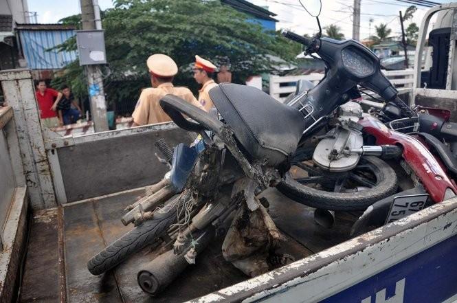 Sản phụ bị xe trộn bê tông cán chết, bé sơ sinh rớt ra đường  - ảnh 4