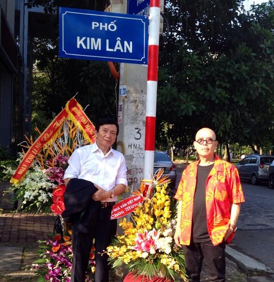 Nhà văn Kim Lân đã có tên đường  - ảnh 1