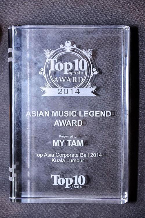 Mỹ Tâm - ca sĩ VN đầu tiên được vinh danh 'Huyền thoại âm nhạc châu Á' - ảnh 1