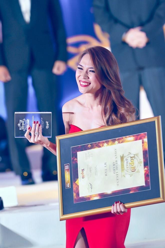 Mỹ Tâm - ca sĩ VN đầu tiên được vinh danh 'Huyền thoại âm nhạc châu Á' - ảnh 3