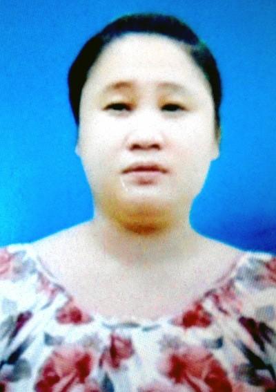 Cơ quan điều tra đang truy tìm đối tượng Nguyễn Thị Thu Hòa.