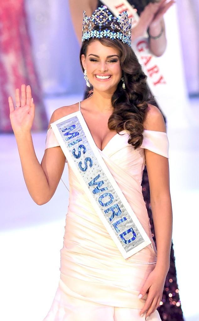 Khoảnh khắc đăng quang của Hoa hậu Thế giới 2014