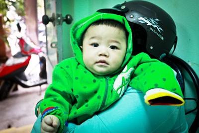 Cháu Đô tại UBND phường Phước Hòa.
