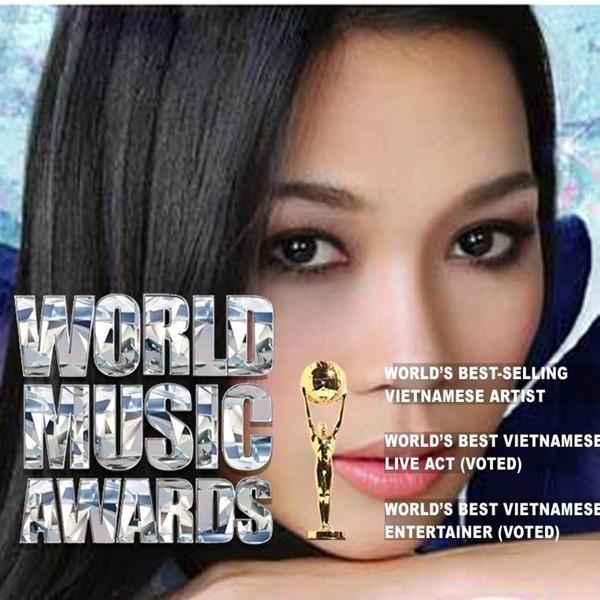 Mỹ Tâm lập hattrick tại giải thưởng âm nhạc quốc tế - ảnh 2