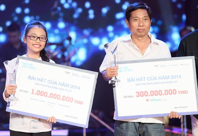 Phương Mỹ Chi dành 1 tỷ đồng giải 'Bài hát yêu thích ' - ảnh 1