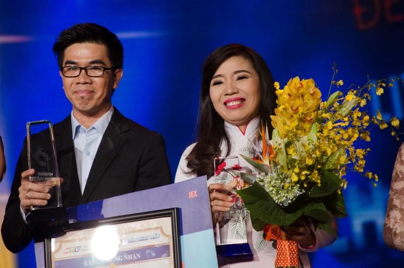 Minh Phượng và Thành Thiện đoạt quán quân 'Vợ chồng mình hát' - ảnh 3