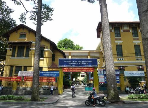 THPT Trưng Vương - ngôi trường cổ kính đầy thơ mộng - ảnh 1