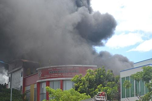 Cháy dữ dội tại công ty sơn ở Đà Nẵng - ảnh 6