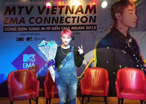 Sơn Tùng M-TP đạt gần 1,4 triệu bình chọn ở MTV - ảnh 1
