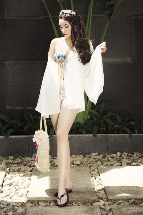 Hoa hậu, Kỳ Duyên, Nguyễn Cao Kỳ Duyên, váy ngủ, vietnamnet