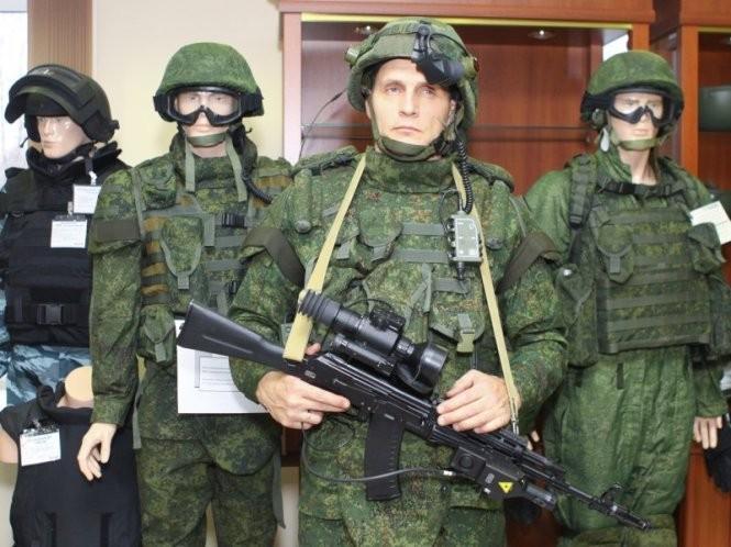 Ngắm bộ quân phục