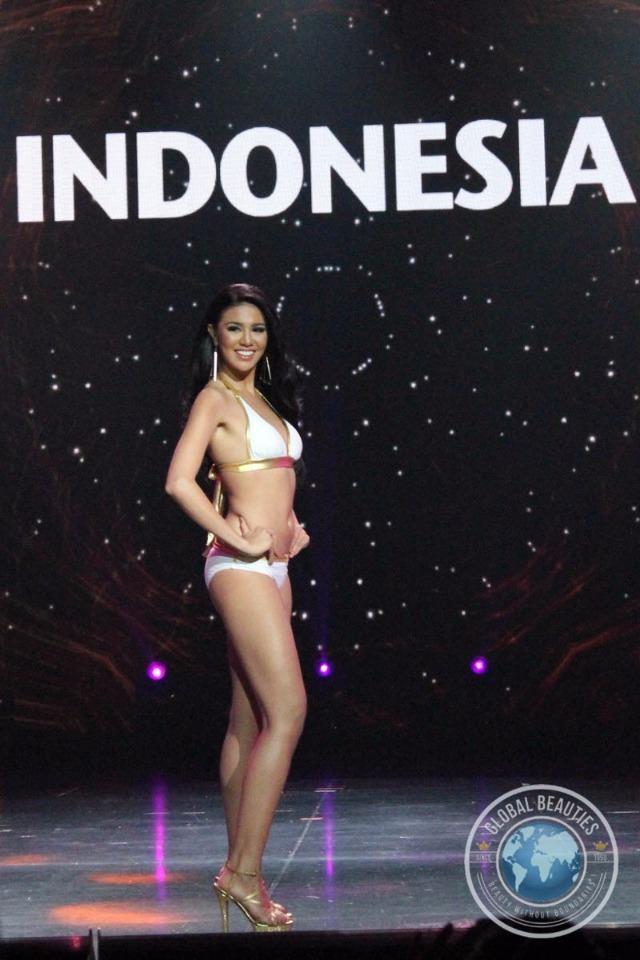 Ariska Putri Pertiwi cao 1,78 m, nặng 50kg.