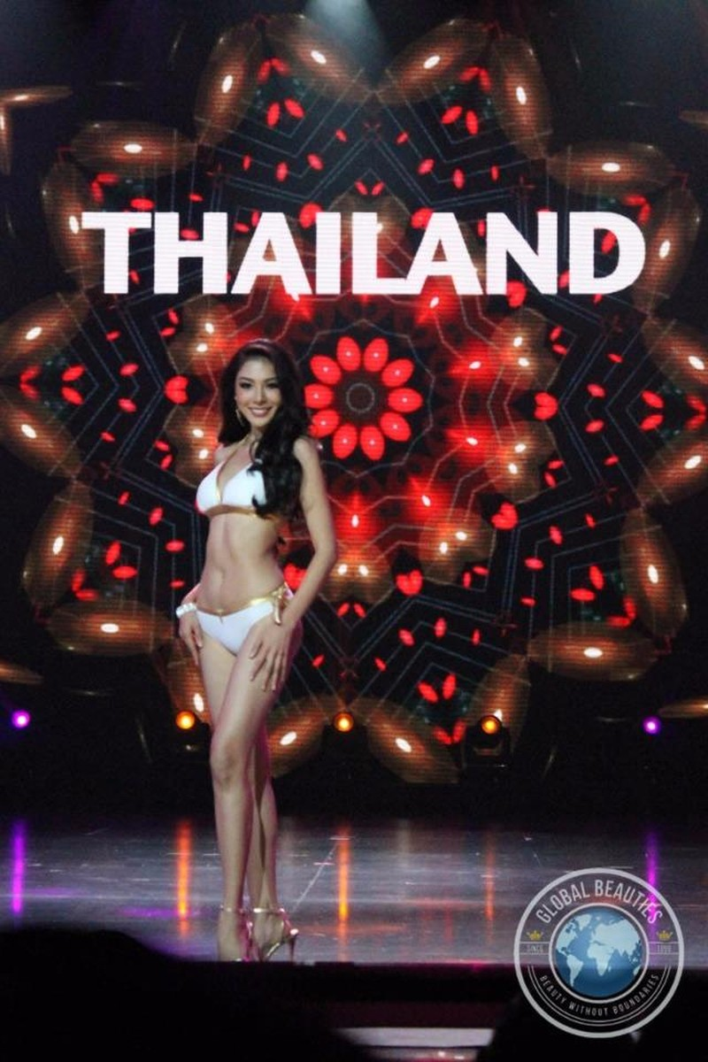 Á hậu 2 cuộc thi Hoa hậu Hòa bình Quốc tế 2016 là người đẹp Thái Lan. Ảnh: DÂN TRÍ