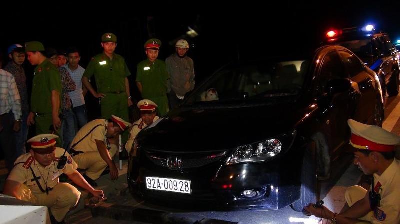 Điều khiển xe vi phạm, tài xế bất hợp tác 'mắng' CSGT - ảnh 2