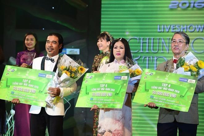 Ba thí sinh còn lại nhận đồng giải thưởng 30 triệu đồng. Ảnh: ZING