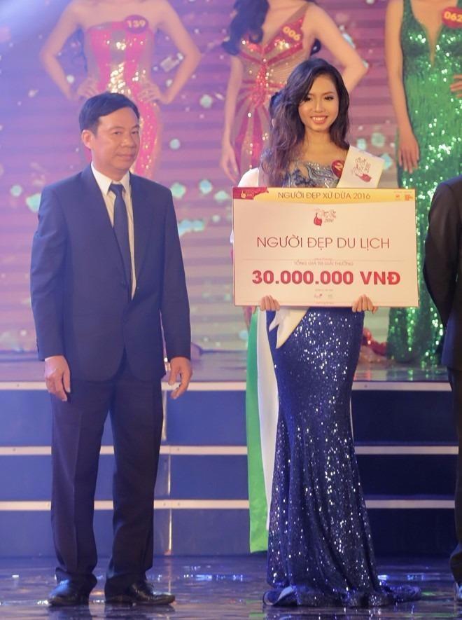 Người đẹp Du lịch Nguyễn Thị Thùy An.