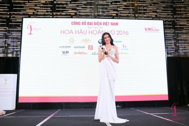 Lệ Hằng đại diện Việt Nam thi Hoa hậu Hoàn vũ 2016  - ảnh 7