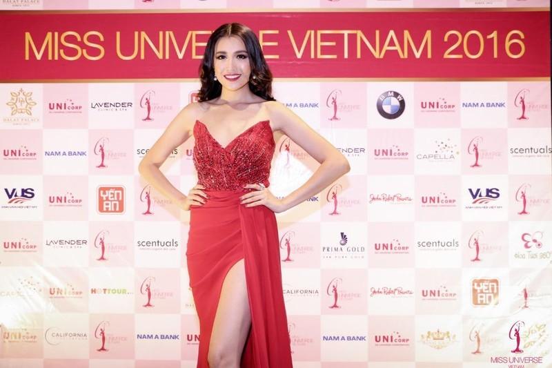 Trước khi đoạt danh hiệu Á hậu 2 Hoàn vũ Việt Nam 2015, người đẹp lọt chung kết Hoa hậu Việt Nam 2012
