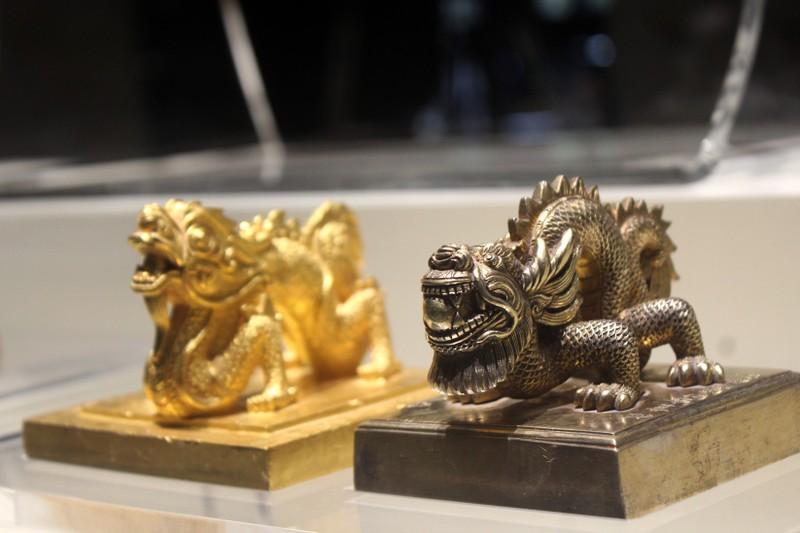 Huế:Chiêm ngưỡng bảo vật triều Nguyễn sau 71 năm trở về - ảnh 9