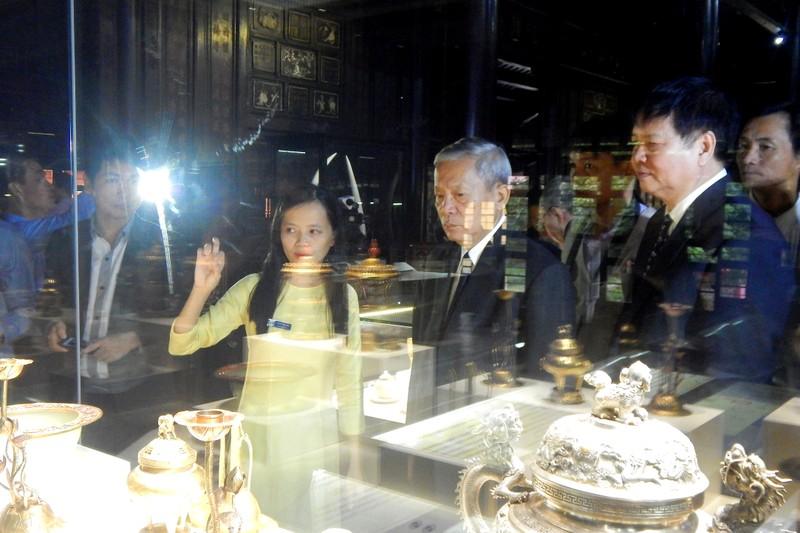Huế:Chiêm ngưỡng bảo vật triều Nguyễn sau 71 năm trở về - ảnh 4