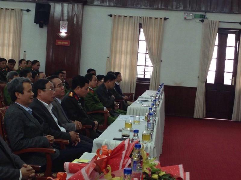 Vụ cướp Ngân hàng BIDV ở Huế:Khen thưởng ban chuyên án  - ảnh 1