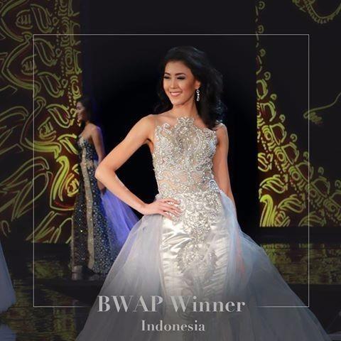 Hoa hậu nhân ái: Indonesia. Ảnh Dân Trí