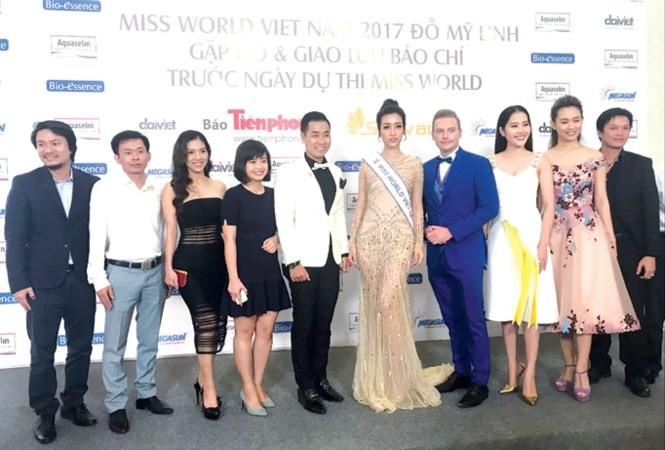 Hoa hậu Đỗ Mỹ Linh dự thi Miss World: Sứ mệnh đặc biệt - ảnh 1