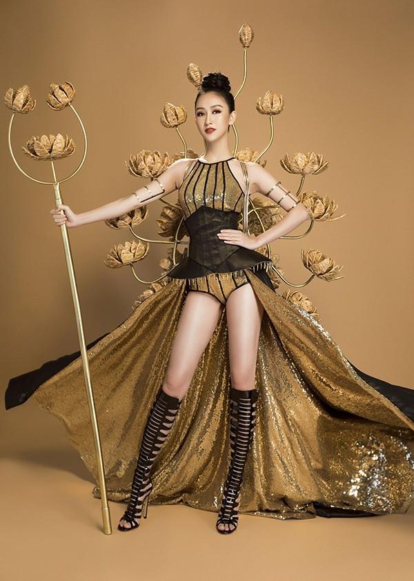 Hà Thu 'ẵm' tiếp 2 huy chương vàng tại Miss Earth 2017 - ảnh 1
