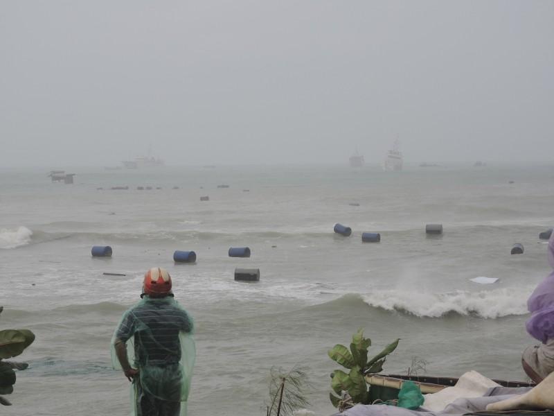 Ngư dân Lý Sơn thiệt hại 45 tỉ vì bão số 12   - ảnh 4