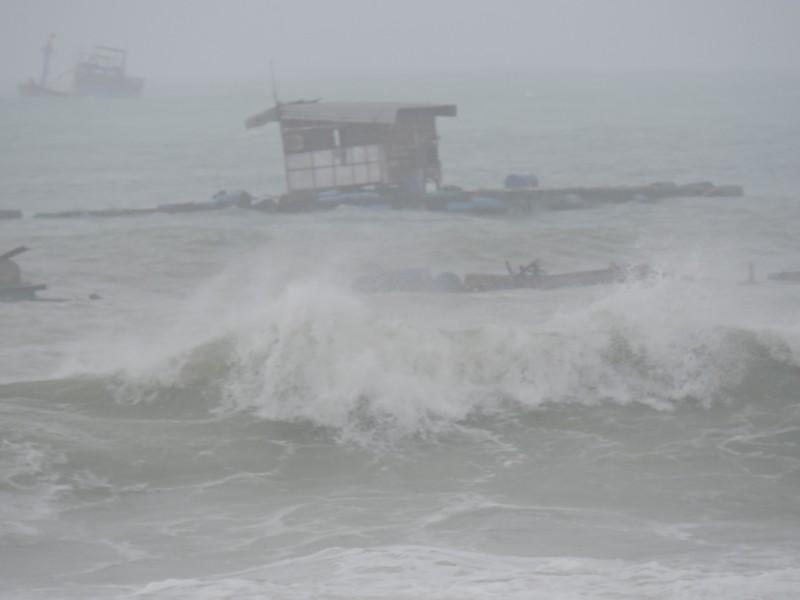 Ngư dân Lý Sơn thiệt hại 45 tỉ vì bão số 12   - ảnh 5
