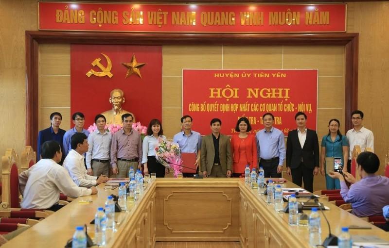 Quảng Ninh hợp nhất nhiều cơ quan đảng - chính quyền - ảnh 1