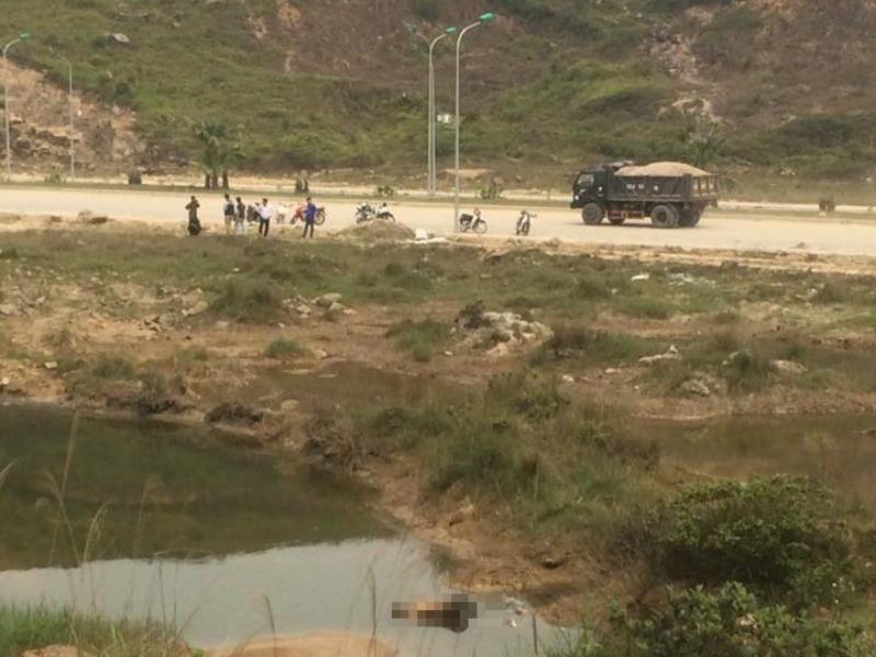 1 thanh niên tử vong gần đầm nước khu công nghiệp - ảnh 1