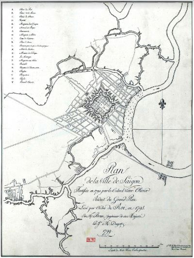Tái hiện Sài Gòn qua các bản đồ cổ  - ảnh 5