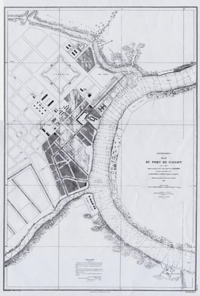 Tái hiện Sài Gòn qua các bản đồ cổ  - ảnh 4