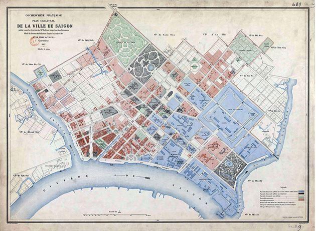 Tái hiện Sài Gòn qua các bản đồ cổ  - ảnh 7