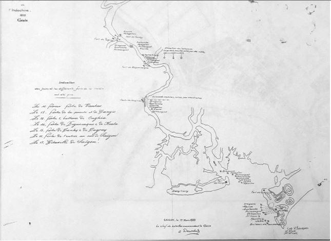 Tái hiện Sài Gòn qua các bản đồ cổ  - ảnh 1