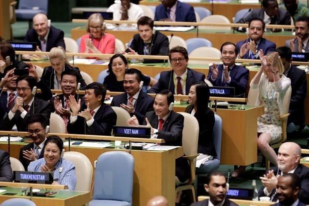VN thúc đẩy các vấn đề toàn cầu trên cơ sở luật pháp quốc tế - ảnh 2