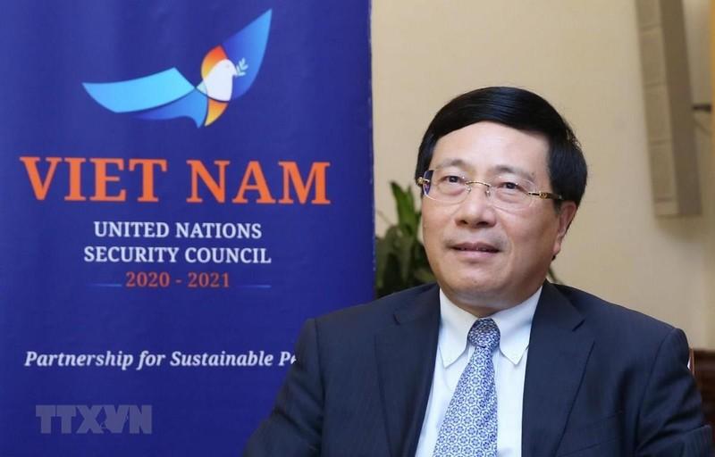 VN thúc đẩy các vấn đề toàn cầu trên cơ sở luật pháp quốc tế - ảnh 1