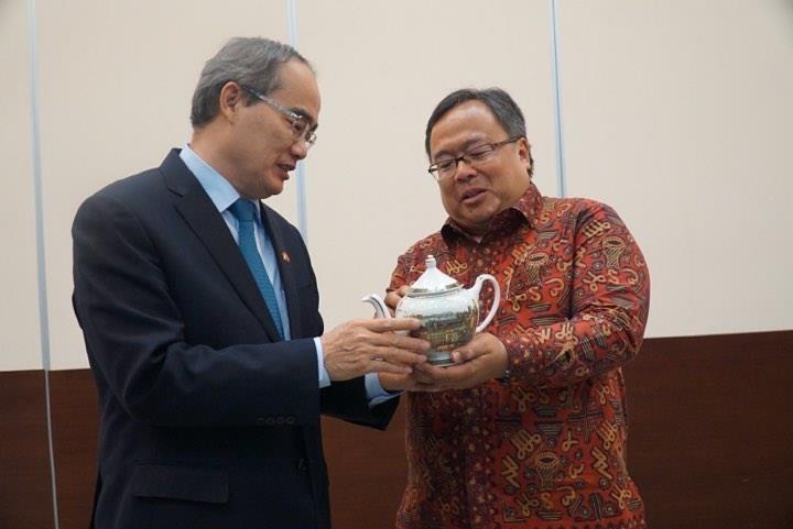 TP.HCM tìm hiểu kinh nghiệm Indonesia xây đê biển chống ngập   - ảnh 7