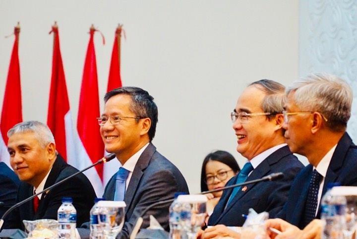 TP.HCM tìm hiểu kinh nghiệm Indonesia xây đê biển chống ngập   - ảnh 4