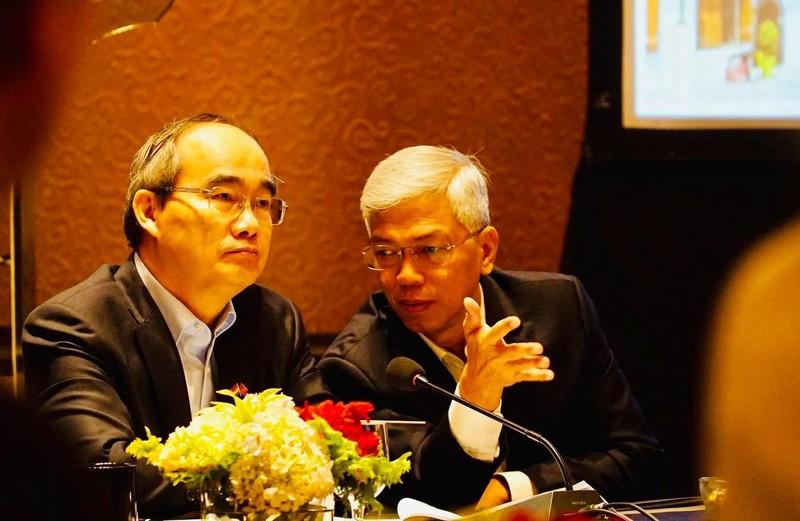 TP.HCM tìm hiểu kinh nghiệm Indonesia xây đê biển chống ngập   - ảnh 1